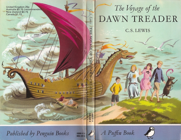 Picture Of The Voyage Of The Dawn Treader